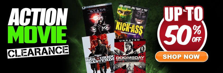 Action Movies Up to 50% OFF