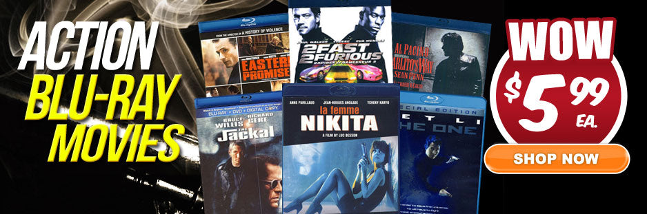 ACTION MOVIES SALE