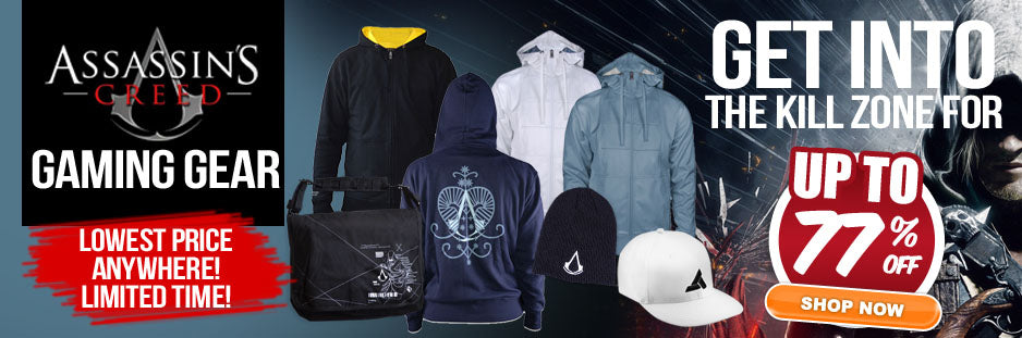 Assassin's Creed Gaming Gear SALE