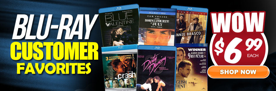 $6.99 customer bluray favorites