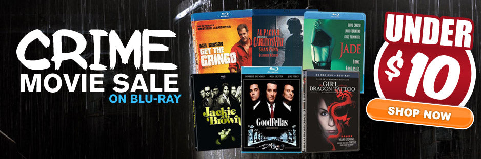 CRIME MOVIES SALE
