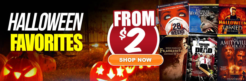 Halloween Movies on Sale!