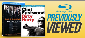 Blu-ray movies previously viewed