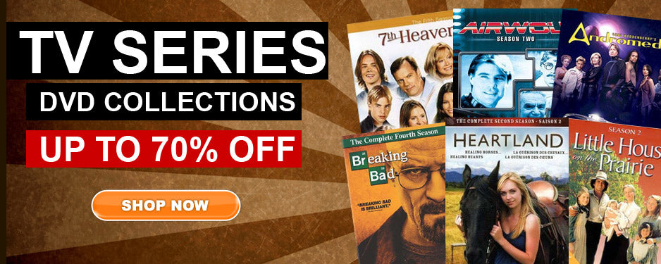 Up to 70% off TV SERIES on DVD