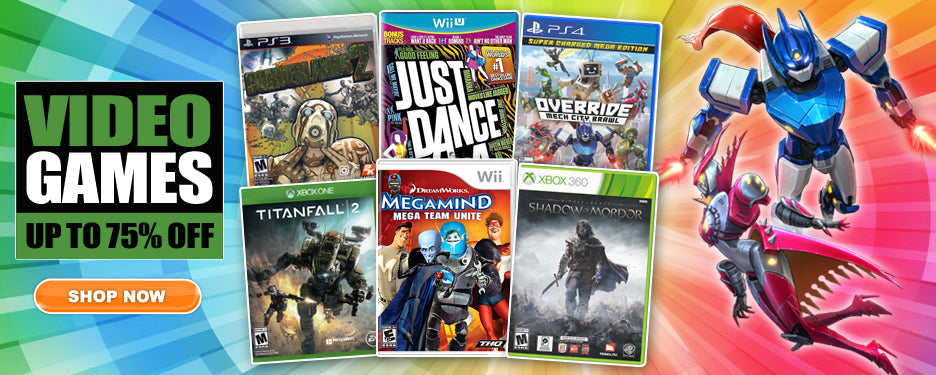 Video Game Deals up to 75% off