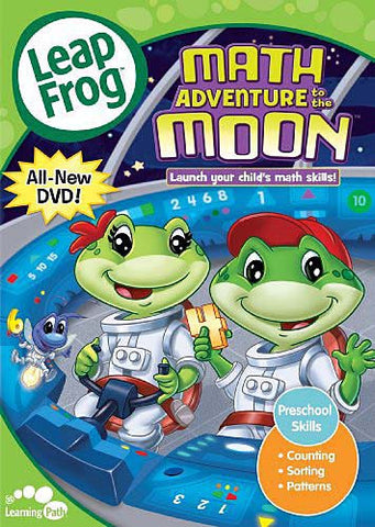 Leap Frog - Math Adventure To The Moon DVD Movie