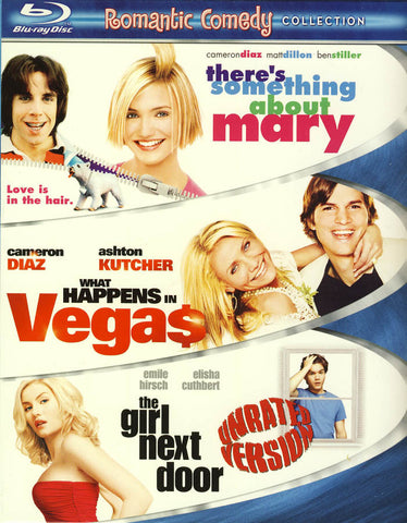 There s Something About Mary / What Happens in Vegas / The Girl Next Door (Boxset) (Blu-ray) BLU-RAY Movie