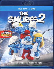 The Smurfs 2 (Blu-ray+DVD)(Blu-ray)