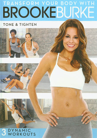 Transform Your Body with Brooke Burke - Tone & Tighten DVD Movie