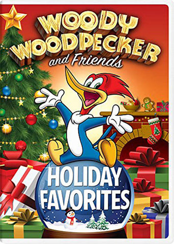 Woody Woodpecker and Friends Holiday Favorites DVD Movie