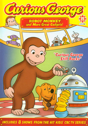 Curious George - Robot Monkey and More Great Gadgets! DVD Movie