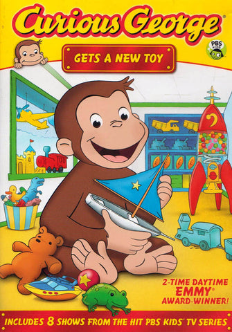 Curious George - Gets a New Toy DVD Movie
