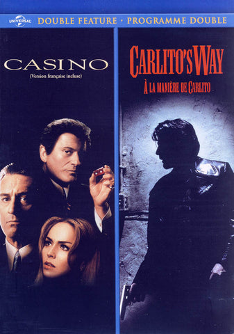 Casino / Carlito's Way (Double Feature) (Bilingual) DVD Movie