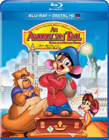 An American Tail (Blu-ray + UltraViolet) (Bilingual) (Blu-ray) BLU-RAY Movie