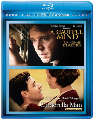 A Beautiful Mind / Cinderella Man (Double Feature) (Blu-ray) (Bilingual) BLU-RAY Movie