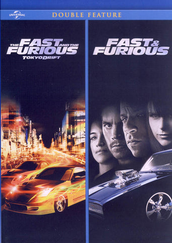 The Fast and The Furious: Tokyo Drift / Fast & Furious (Double Feature) DVD Movie