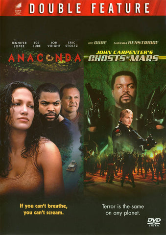 Anaconda / Ghosts of Mars (Special Edition) DVD Movie