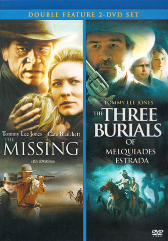 The Missing / The Three Burials of Melquiades Estrada (Double Feature) (Blue Cover) DVD Movie