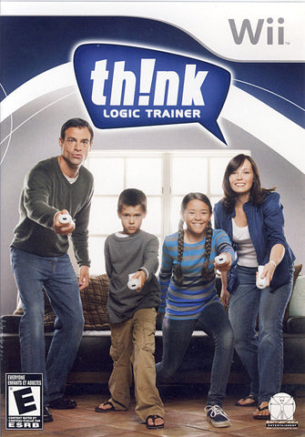 Th!nk Logic Trainer (Bilingual Cover) (NINTENDO WII) NINTENDO WII Game