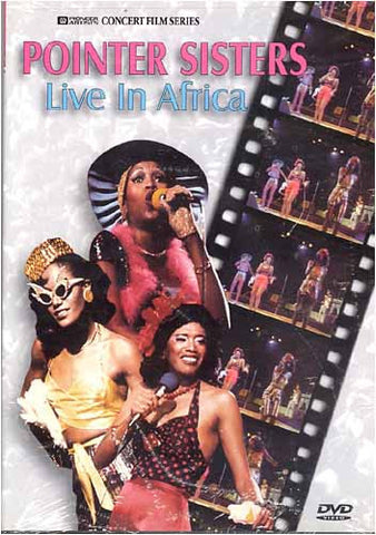 Pointer Sisters Live In Africa DVD Movie