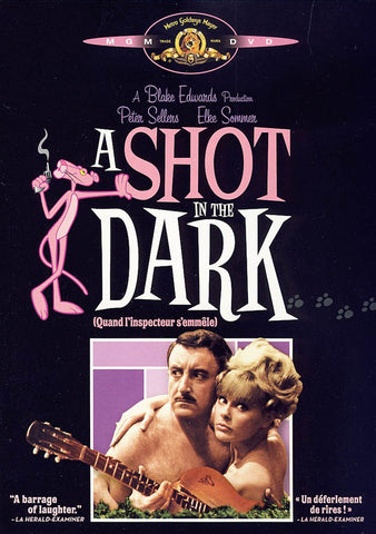 A Shot In The Dark (Black Cover)(Pink Panther) (Bilingual) DVD Movie