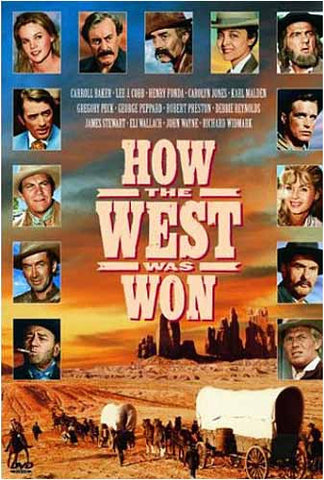 How The West Was Won DVD Movie