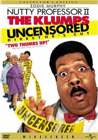 The Nutty Professor II - The Klumps (Uncensored Director's Cut) DVD Movie
