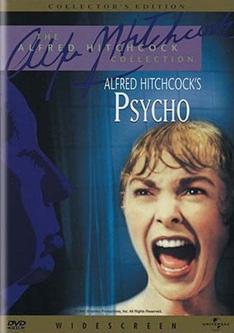 Psycho - Collector's Edition (Alfred Hitchcock) DVD Movie