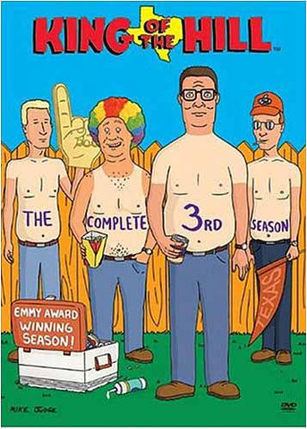 King of the Hill - The Complete Third Season (Kepcase) DVD Movie