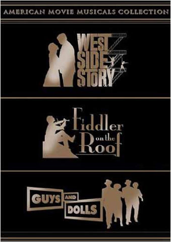 American Movie Musicals Collection (West Side Story/Fiddler on the Roof/Guys and Dolls) (Boxset) DVD Movie