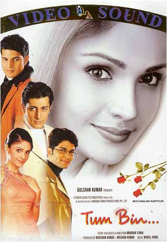 Tum Bin (Original Hindi Movie) DVD Movie