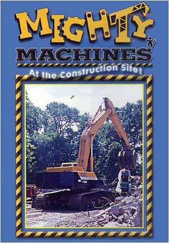 Mighty And Super Machines - At The Construction Site! DVD Movie