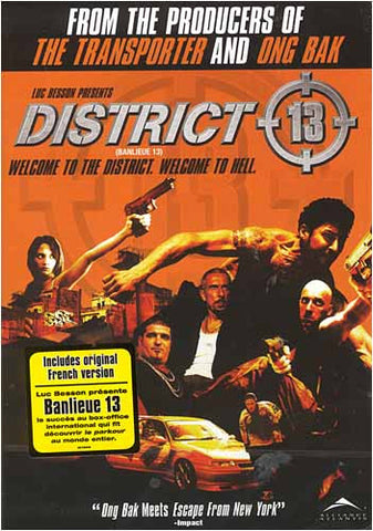 District 13 (Bilingual) DVD Movie