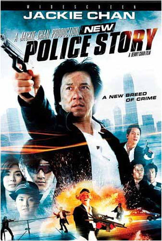 New Police Story DVD Movie