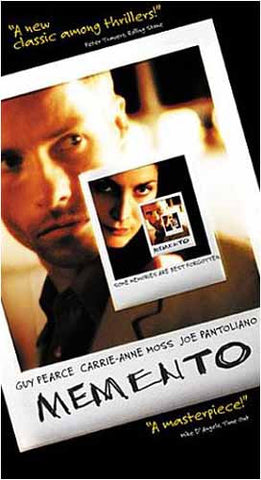 Memento DVD Movie