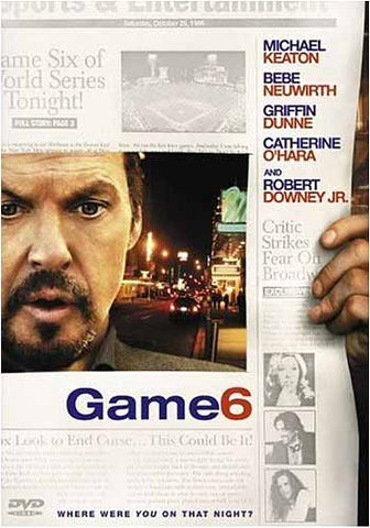 Game 6 DVD Movie