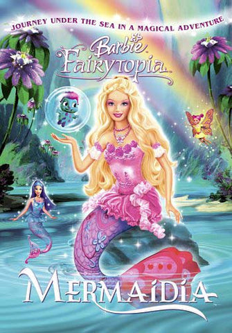 Barbie Fairytopia - Mermaidia DVD Movie