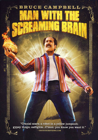 Man With The Screaming Brain DVD Movie