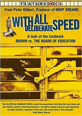 With All Deliberate Speed DVD Movie