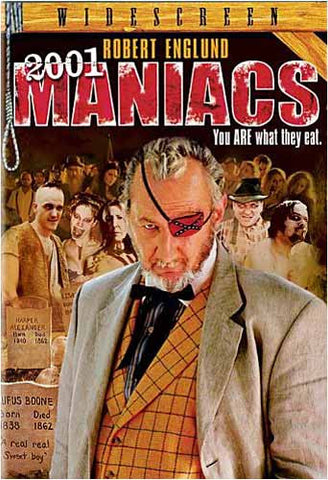2001 Maniacs DVD Movie