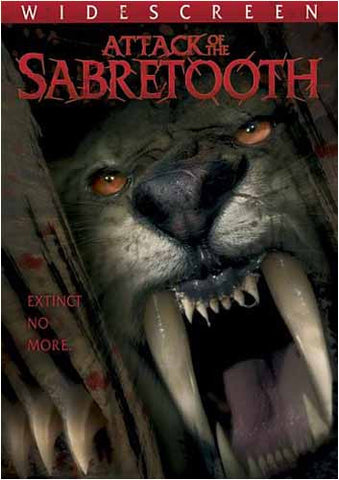 Attack of the Sabretooth DVD Movie