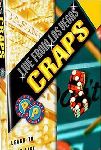 Live From Las Vegas: Craps DVD Movie