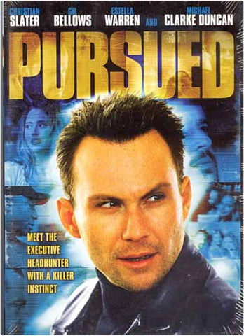 Pursued (Christian Slater) DVD Movie
