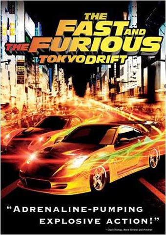 The Fast and the Furious: Tokyo Drift (White spine) DVD Movie