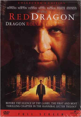 Red Dragon (Dragon Rouge) (Full screen Collector s Edition) DVD Movie