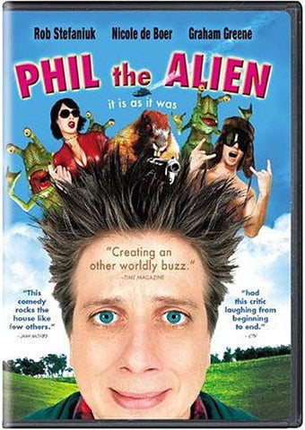 Phil the Alien DVD Movie