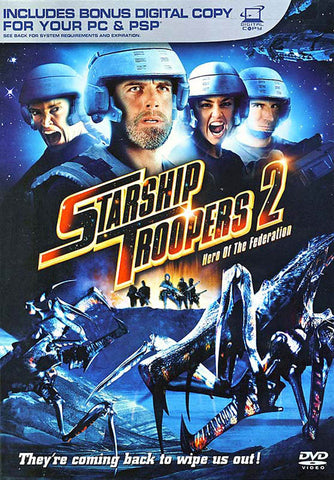 Starship Troopers 2 - Hero of the Federation DVD Movie