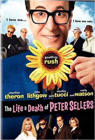 The Life and Death of Peter Sellers DVD Movie