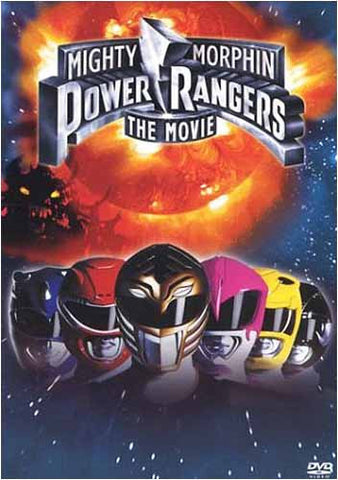 Mighty Morphin Power Rangers - The Movie DVD Movie