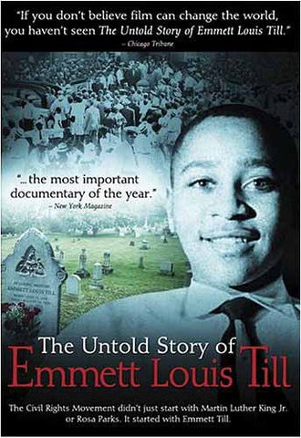 The Untold Story Of Emmett Louis Till DVD Movie